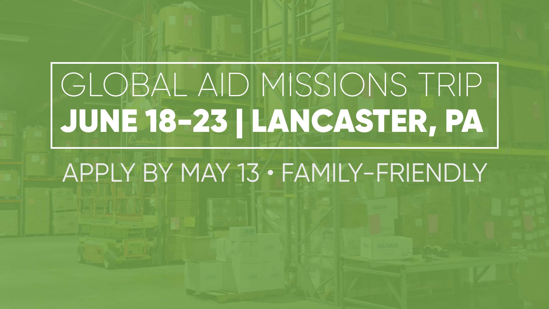 Global Aid Family Mission Trip