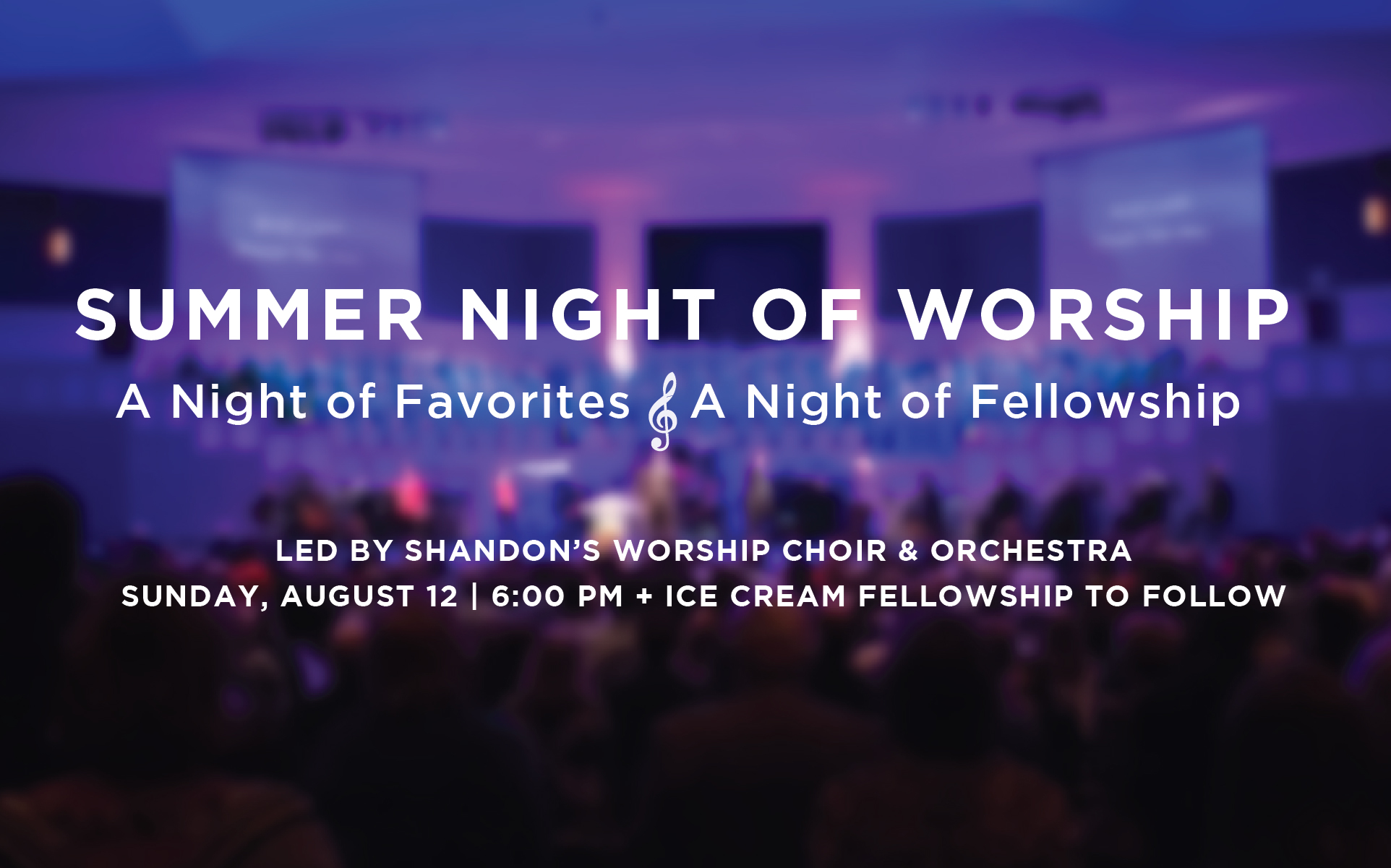 Summer Night of Worship